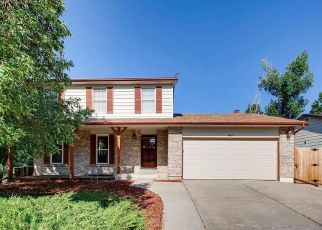Pre Foreclosure in Aurora 80015 S BISCAY WAY - Property ID: 1361170794