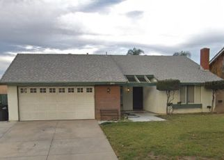 Pre Foreclosure in Ontario 91761 S SEAGULL AVE - Property ID: 1361380580