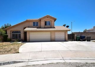 Pre Foreclosure in Palmdale 93550 CHUCKWAGON RD - Property ID: 1361381898