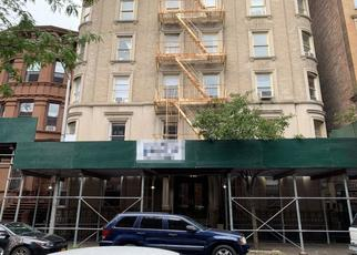 Pre Foreclosure in New York 10027 W 122ND ST - Property ID: 1363705334