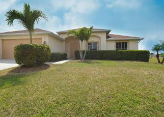 Pre Foreclosure in Cape Coral 33909 NE JUANITA CT - Property ID: 1365209337