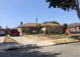 Pre Foreclosure in Lynwood 90262 HULME AVE - Property ID: 1365250966
