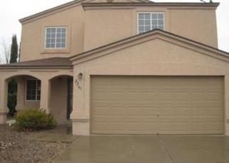 Pre Foreclosure in Albuquerque 87120 SEA FOAM ST NW - Property ID: 1366983580