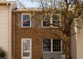 Pre Foreclosure in Columbia 21046 HIDDEN COVE - Property ID: 1367485944