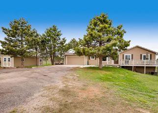 Pre Foreclosure in Elizabeth 80107 MARLIN CT - Property ID: 1372400884