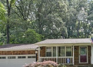 Pre Foreclosure in Davidsonville 21035 NILE RD - Property ID: 1373415668