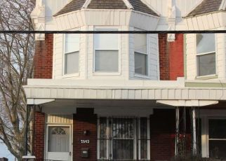 Pre Foreclosure in Philadelphia 19140 W PIKE ST - Property ID: 1374778194