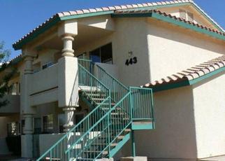 Pre Foreclosure in Mesquite 89027 MESA BLVD - Property ID: 1376489360