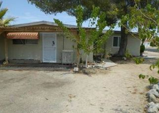 Pre Foreclosure in Twentynine Palms 92277 DESERT QUEEN AVE - Property ID: 1376653156