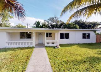 Pre Foreclosure in Miami 33161 NE 140TH ST - Property ID: 1376907182