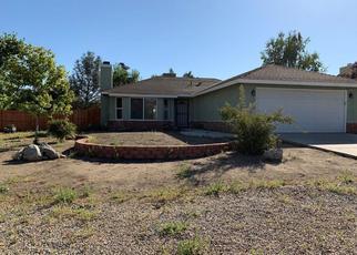 Pre Foreclosure in Tehachapi 93561 BOLD VENTURE DR - Property ID: 1377465156