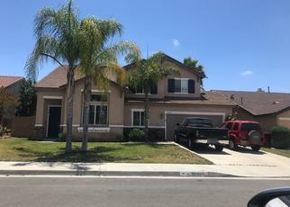 Pre Foreclosure in Winchester 92596 BERMUDA ST - Property ID: 1378874574