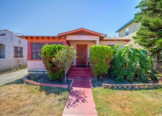 Pre Foreclosure in Los Angeles 90043 4TH AVE - Property ID: 1378929317