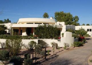 Pre Foreclosure in Scottsdale 85255 E PARAISO DR - Property ID: 1379277505