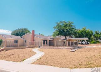 Pre Foreclosure in Escondido 92027 S HAYDEN DR - Property ID: 1381179632