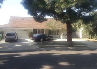 Pre Foreclosure in Northridge 91326 DES MOINES AVE - Property ID: 1381257143