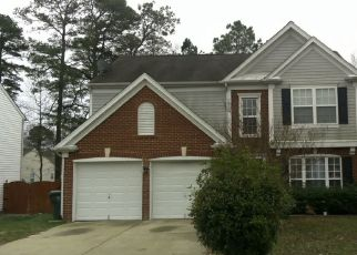 Pre Foreclosure in Raleigh 27610 VIEWMONT DR - Property ID: 1382082288