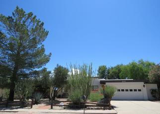 Pre Foreclosure in Green Valley 85614 W LA CANOA - Property ID: 1384218736