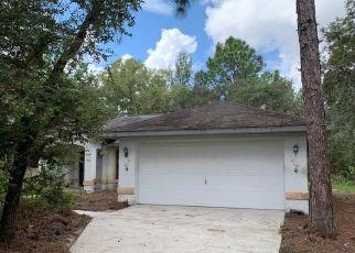 Pre Foreclosure in Dunnellon 34433 W NEWCASTLE CT - Property ID: 1391334492