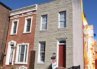 Pre Foreclosure in Baltimore 21224 S HIGHLAND AVE - Property ID: 1392370298