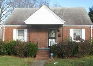 Pre Foreclosure in Norfolk 23513 WOLCOTT AVE - Property ID: 1392944933
