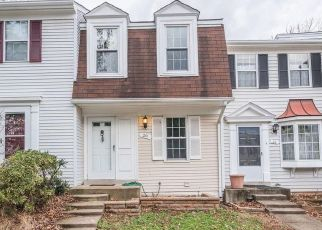 Pre Foreclosure in Sterling 20165 DORRELL CT - Property ID: 1392999673