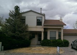 Pre Foreclosure in Rio Rancho 87144 GOLDEN EYE LOOP NE - Property ID: 1394481334
