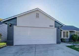 Pre Foreclosure in Nampa 83651 W HUCKLEBERRY DR - Property ID: 1395501822