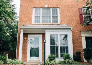 Pre Foreclosure in Bristow 20136 BENCHMARK LN - Property ID: 1397040862