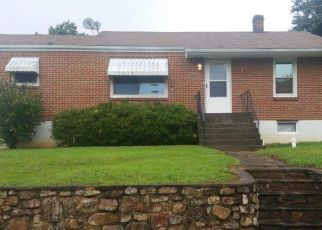 Pre Foreclosure in Roanoke 24017 SHOWALTER RD NW - Property ID: 1397046549