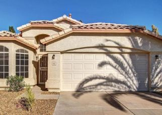 Pre Foreclosure in Gilbert 85296 S GARNET RD - Property ID: 1398903112