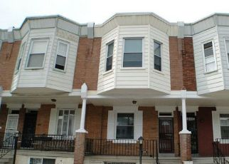 Pre Foreclosure in Philadelphia 19139 N PAXON ST - Property ID: 1399008223