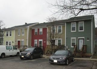 Pre Foreclosure in Silver Spring 20904 LISAGE WAY - Property ID: 1400447865
