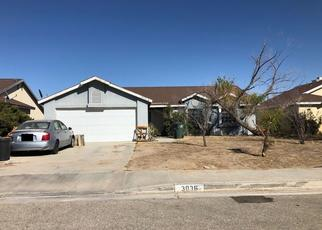 Pre Foreclosure in Rosamond 93560 GERTRUDE ST - Property ID: 1401533592