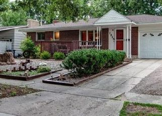 Pre Foreclosure in Colorado Springs 80909 WYNKOOP DR - Property ID: 1402660501