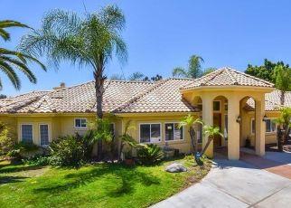 Pre Foreclosure in Escondido 92026 SAGE GLEN TRL - Property ID: 1403078775