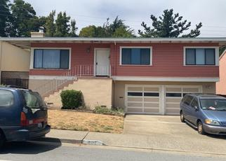 Pre Foreclosure in South San Francisco 94080 ALHAMBRA RD - Property ID: 1403201844