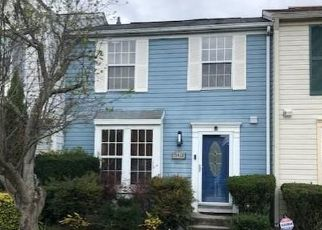 Pre Foreclosure in Bowie 20716 NEMAN DR - Property ID: 1405056212