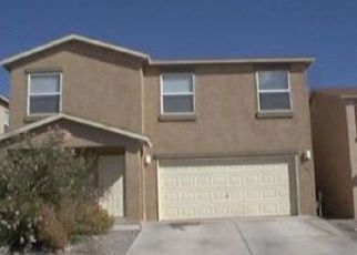 Pre Foreclosure in Albuquerque 87121 SANDY FLATS AVE SW - Property ID: 1406370131