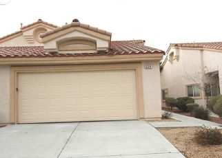Pre Foreclosure in Henderson 89014 N STEPHANIE ST - Property ID: 1406565925