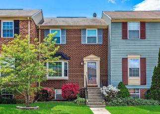 Pre Foreclosure in Pasadena 21122 SCORTON HARBOUR - Property ID: 1409335217