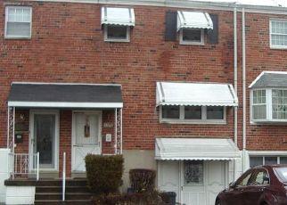 Pre Foreclosure in Philadelphia 19142 BOBOLINK PL - Property ID: 1411361740