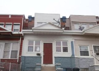 Pre Foreclosure in Philadelphia 19143 FLORENCE AVE - Property ID: 1411364357