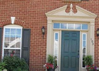 Pre Foreclosure in Middletown 19709 W CRAIL CT - Property ID: 1412564855