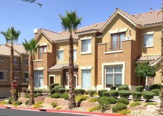 Pre Foreclosure in Henderson 89074 FOUNTAIN CROSSING LN - Property ID: 1412594631