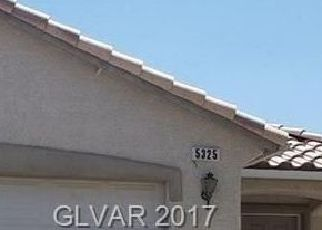 Pre Foreclosure in Las Vegas 89110 DAWES CT - Property ID: 1412680923