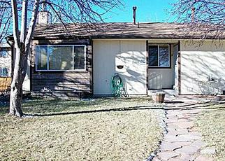 Pre Foreclosure in Aurora 80012 E MONTANA CIR - Property ID: 1415136634