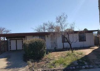 Pre Foreclosure in Sierra Vista 85635 GALILEO DR - Property ID: 1415175161