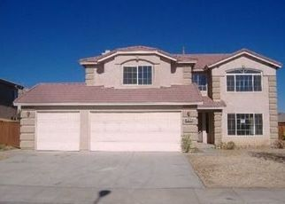 Pre Foreclosure in Palmdale 93552 DEL MAR ST - Property ID: 1415197510