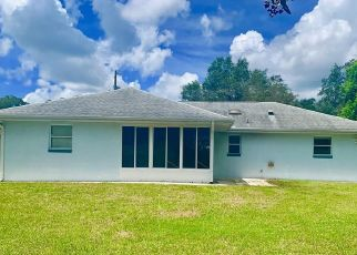 Pre Foreclosure in Dunnellon 34434 N MITCHELLE DR - Property ID: 1415231675
